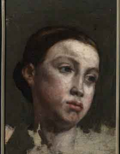 Portrait Of The Artist's Sister By Gustave Courbet