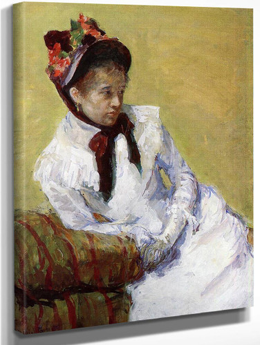 Portrait Of The Artist By Mary Cassatt