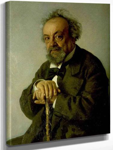 Portrait Of The Author Alexey Pisemsky. By Ilia Efimovich Repin