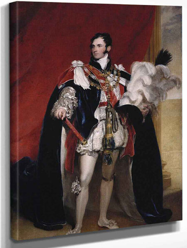 Prince Leopold Of Saxe Coburg, Later Leopold I, King Of The Belgians  By Sir Thomas Lawrence