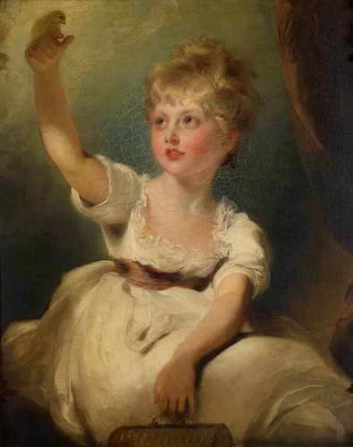 Princess Charlotte Of Wales  By Sir Thomas Lawrence