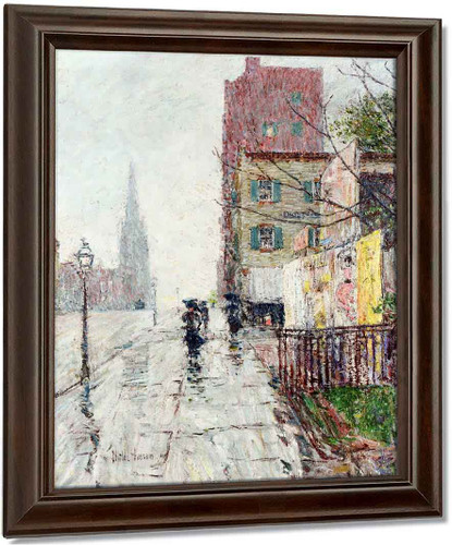 Rainy Day By Frederick Childe Hassam