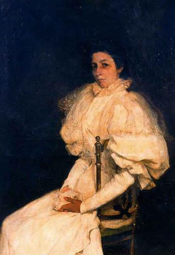 Retrato De Dona Maria Del Rosario Millan Y Garcia Conde By Jose Mongrell Torrent