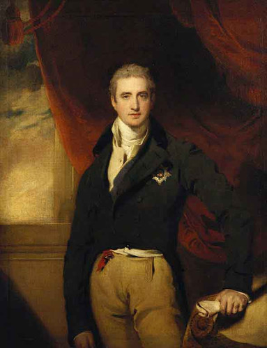 Robert Stewart, Viscount Castlereagh, Later 2Nd Marquis Of Londonderry By Sir Thomas Lawrence