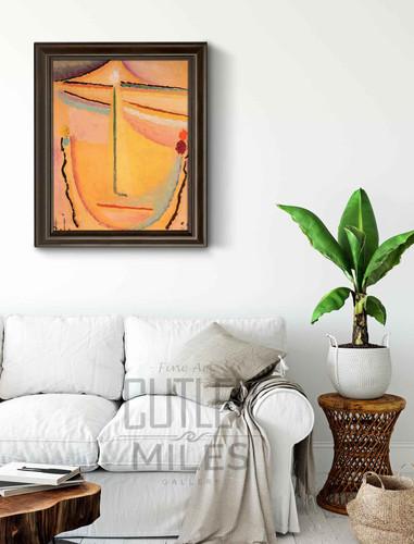Rosa Orange By Alexei Jawlensky By Alexei Jawlensky