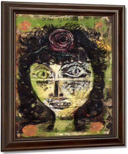 Rosa By Paul Klee