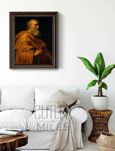 Saint Peter By Peter Paul Rubens