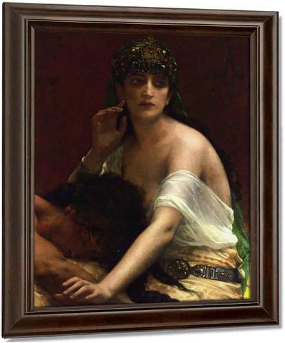 Samson And Delilah By Alexandre Cabanel