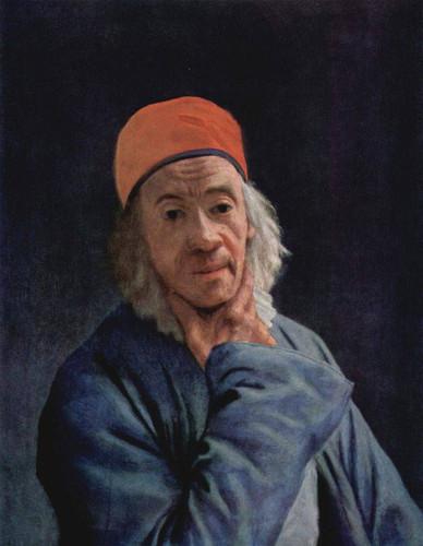 Self Portrait By Jean Etienne Liotard