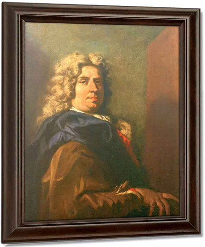 Self Portrait By Sebastiano Ricci