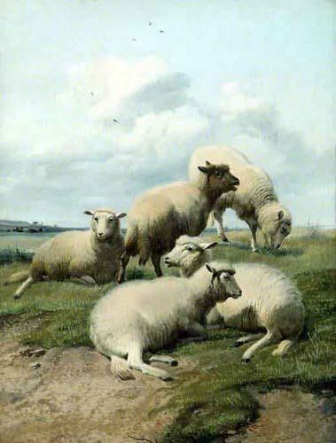 Sheep1 By Thomas Sidney Cooper By Thomas Sidney Cooper