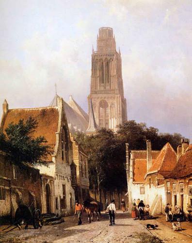 Sint Maartenskerk, Zaltbommel By Cornelius Springer