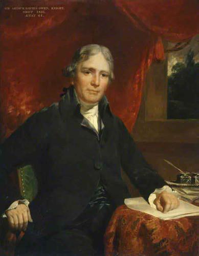 Sir Arthur Davies Owen By John Hoppner