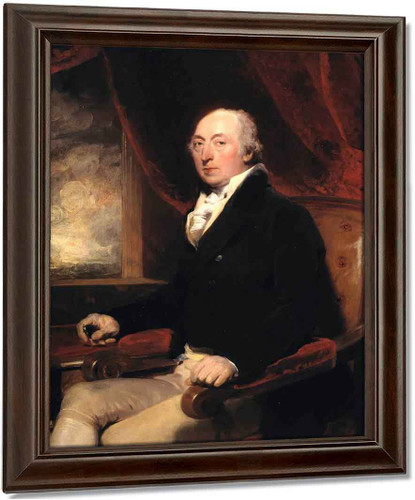 Sir Philip Sansom By Sir Thomas Lawrence