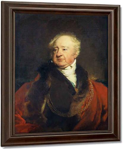 Sir William Curtis By Sir Thomas Lawrence