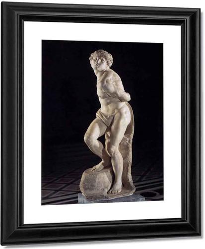 Slave (Rebelling) By Michelangelo Buonarroti(Italian, 1475 1564) By Michelangelo Buonarroti(Italian, 1475 1564)