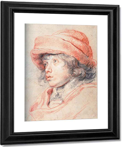 Son Nicolas With A Red Cap By Peter Paul Rubens