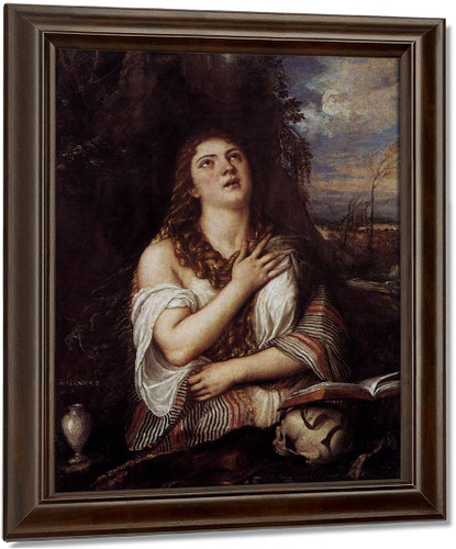St Mary Magdalene 1 By Titian