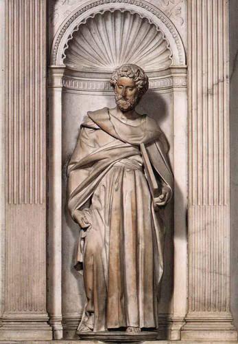 St Paul By Michelangelo Buonarroti By Michelangelo Buonarroti