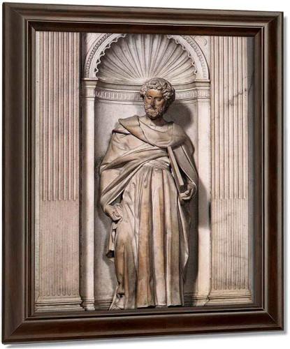 St Paul By Michelangelo Buonarroti