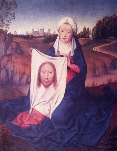 St. Veronica By Hans Memling