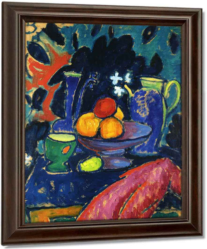 Still Life With Jug By Alexei Jawlensky