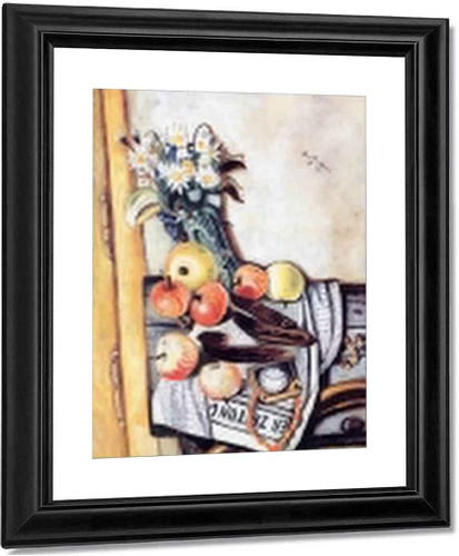 Still Life With Marguerites By Max Beckmann By Max Beckmann