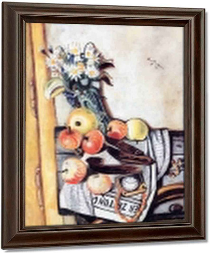 Still Life With Marguerites By Max Beckmann