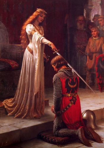 The Accolade By Sir Frederic Lord Leighton