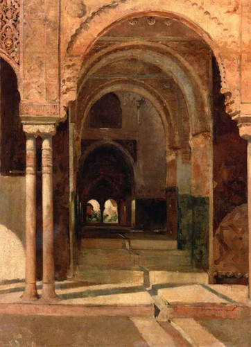 The Alhambra By Theo Van Rysselberghe