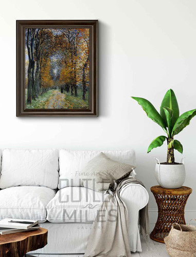 The Avenue By Claude Oscar Monet