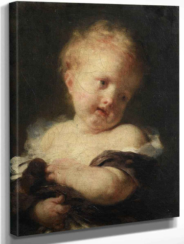 The Blond Child  By Jean Honore Fragonard