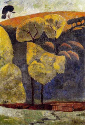 The Blue Valley By Paul Serusier