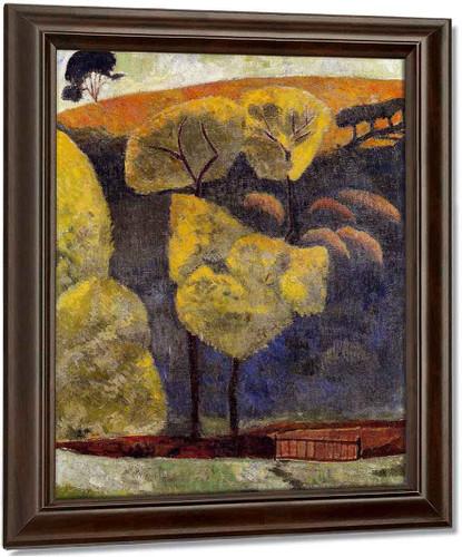 The Blue Valley By Paul Serusier Oil on Canvas Reproduction