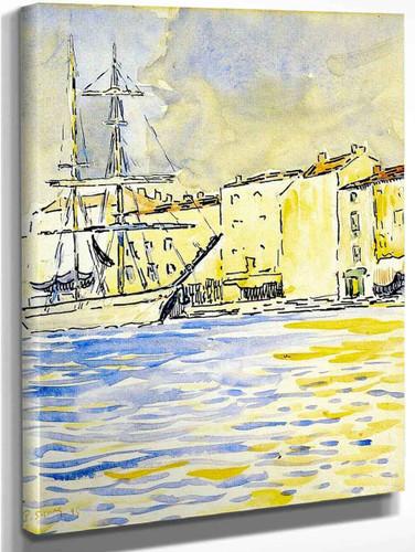 The Brig By Paul Signac