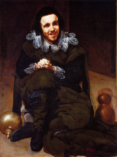 The Buffoon Calabazas By Diego Velazquez