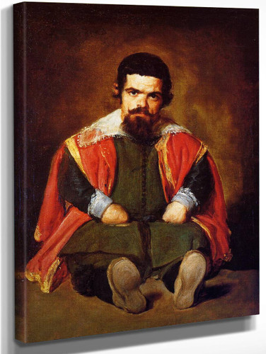 The Buffoon Sebastian De Morra By Diego Velazquez
