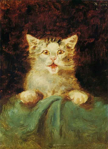 The Cat By Henri De Toulouse Lautrec