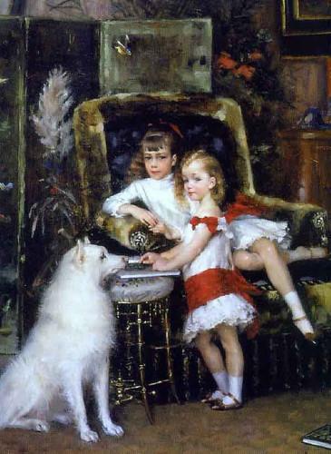 The Children Of Alexander Iii By Albert Edelfelt