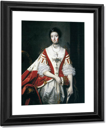 The Countess Of Dartmouth By Sir Joshua Reynolds