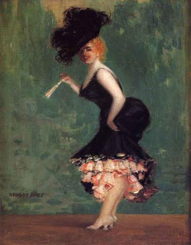 The Dancer By George Benjamin Luks