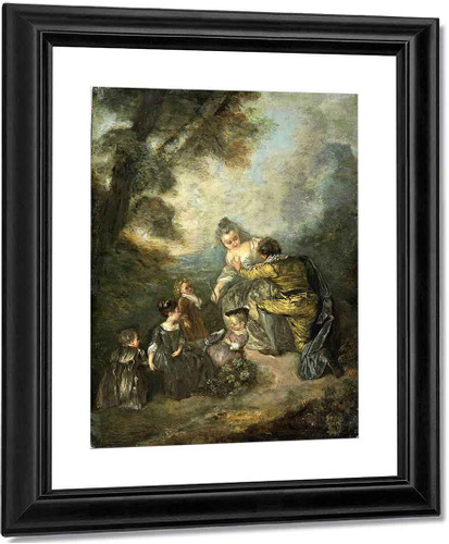 The Declaration By Jean Antoine Watteau French1684  1721