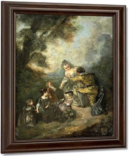 The Declaration By Jean Antoine Watteau