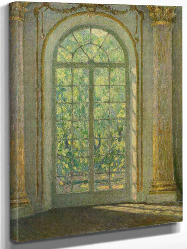 The Door Of Spring By Henri Le Sidaner By Henri Le Sidaner