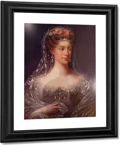 The Duchess Of Berry By Robert Lefevre