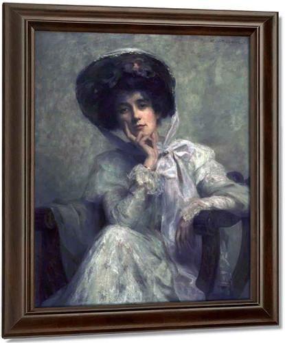 The Edwardian Hat By Ambrose Mcevoy