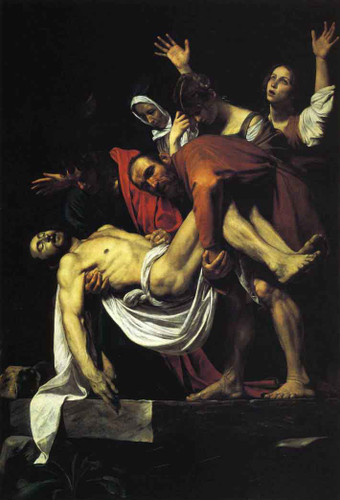 The Entombment Of Christ By Caravaggio By Caravaggio