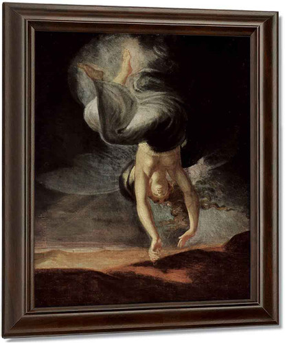 The Fairy Queen Titania Finds The Magic Ring On The Beach By Henry Fuseli
