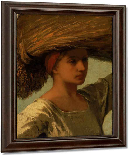 The Gleaner By William Morris Hunt