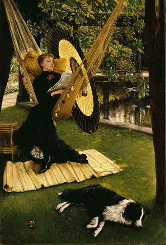 The Hammock1 By James Tissot